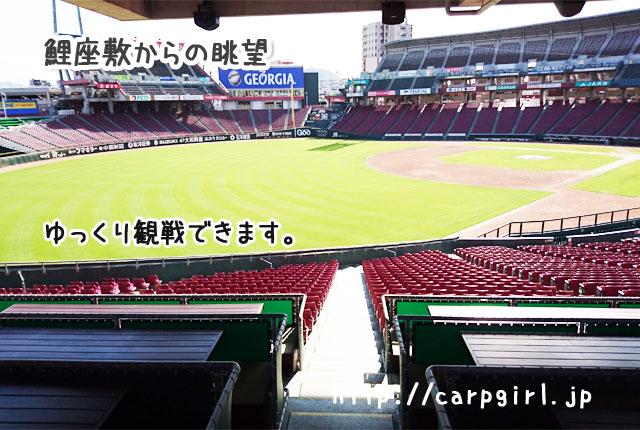 マツダスタジアム 鯉座敷