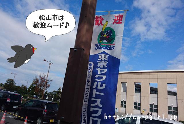ヤクルト 松山秋季キャンプ