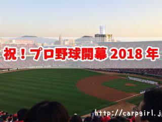 2018年 プロ野球 開幕