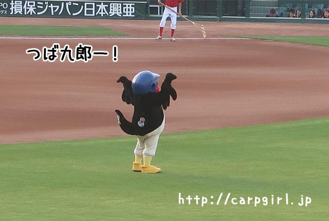 つば九郎 マツダスタジアム 2018