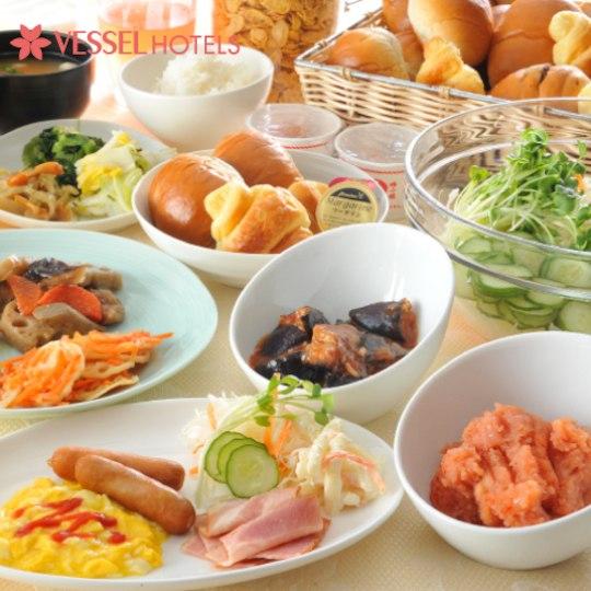 ベッセルイン 広島 朝食