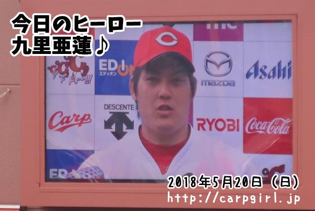 九里亜蓮 勝利投手