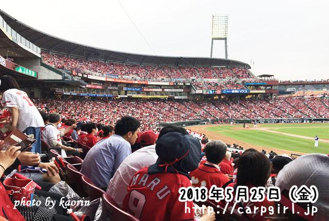 マツダスタジアム 内野一塁側