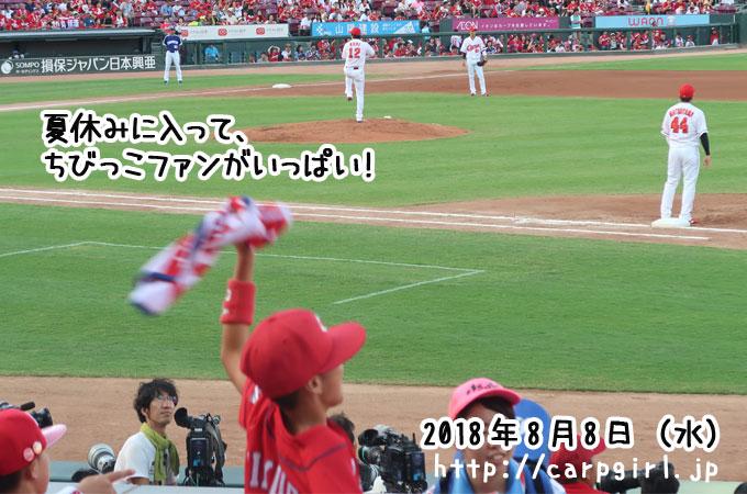マツダスタジアム 夏休み