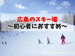 初心者におすすめの広島のスキー場