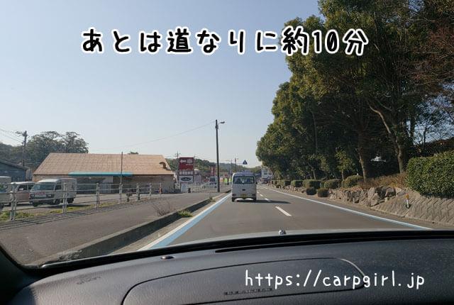 大山祇神社への道のり
