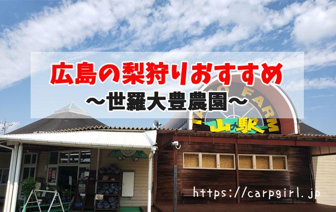 広島の梨狩りおすすめ~大豊農園