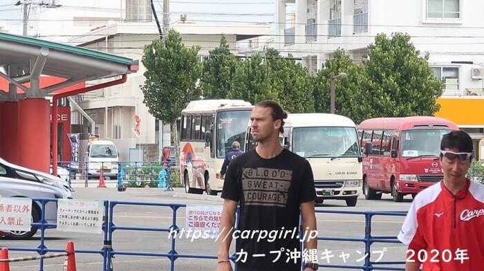 カープ沖縄キャンプ2020 スコット