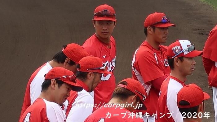 カープ沖縄キャンプ2020 堂林翔太