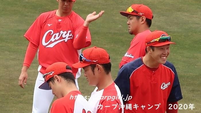 カープ沖縄キャンプ2020 小園海斗